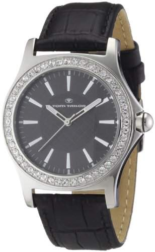 Tom Tailor Damen-Armbanduhr Analog Leder 5407102