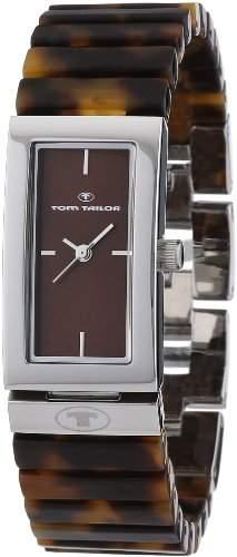 TOM TAILOR Damen-Armbanduhr Analog Quarz Plastik 5408403