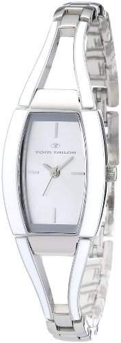 TOM TAILOR Damen-Armbanduhr Analog Quarz Edelstahl 5408602