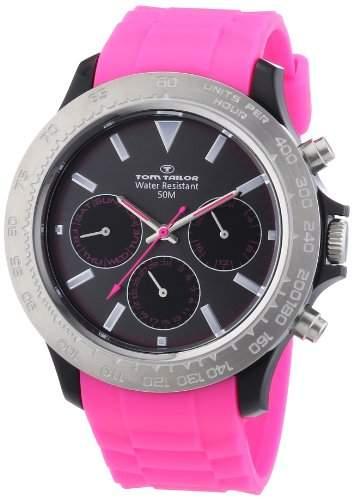Tom Tailor Damen-Armbanduhr XL Chronograph Quarz Plastik 5411204