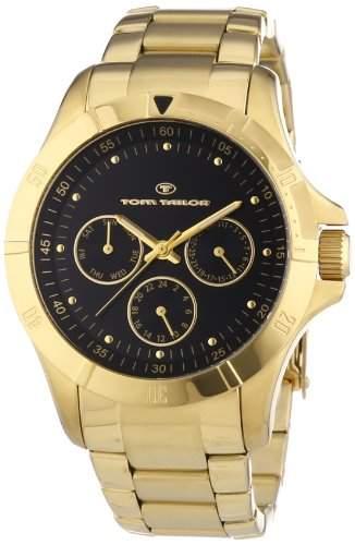 Tom Tailor Damen-Armbanduhr Analog Quarz Edelstahl beschichtet 5412201