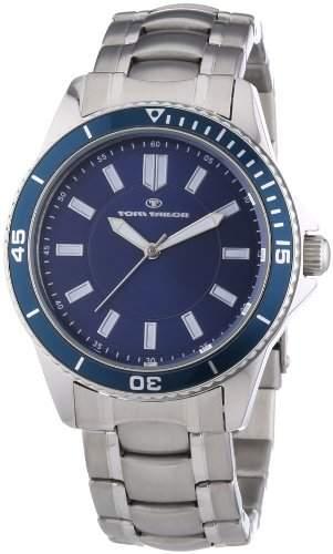 Tom Tailor Herren-Armbanduhr XL Analog Quarz Edelstahl 5412504