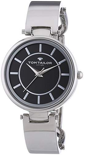 TOM TAILOR Damen-Armbanduhr Analog Quarz Edelstahl 5412901