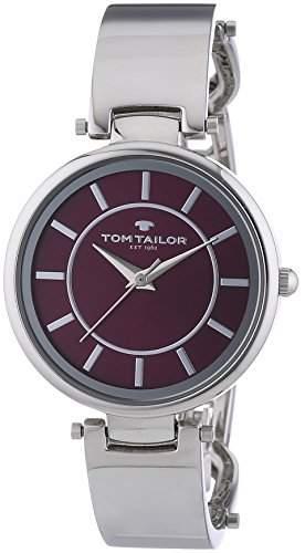 TOM TAILOR Damen-Armbanduhr Analog Quarz Edelstahl 5412903