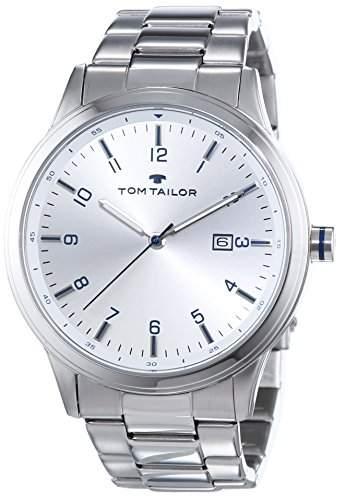 TOM TAILOR Herren-Armbanduhr Analog Quarz Edelstahl 5414105