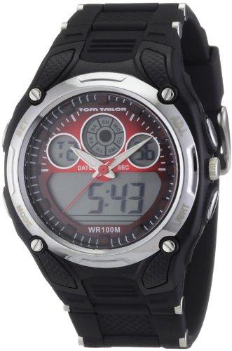 TOM TAILOR Herren Armbanduhr XL Analog Digital Plastik 5407701