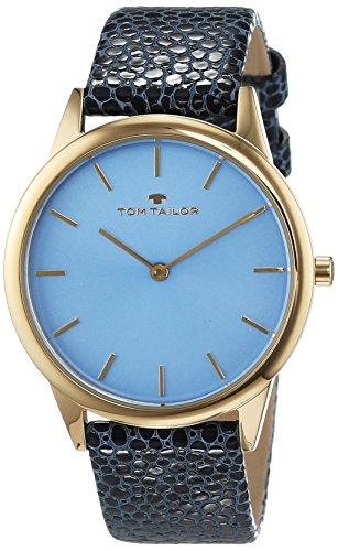 TOM TAILOR Watches Analog Quarz Leder 5414704