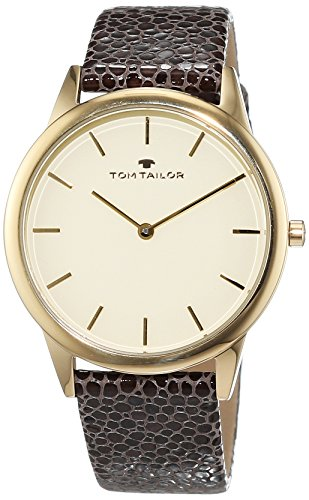 TOM TAILOR Watches Analog Quarz Leder 5414702