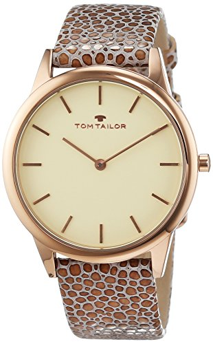 TOM TAILOR Watches Analog Quarz Leder 5414703