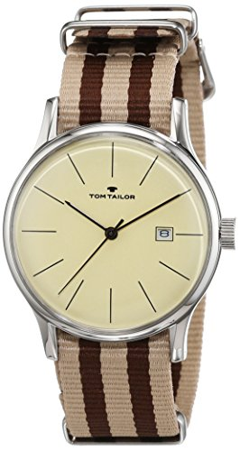 TOM TAILOR Watches Analog Quarz Nylon 5415103