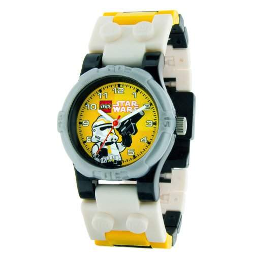 Universal Trends CT46127 - Lego Star Wars Kinderuhr - Stormtrooper