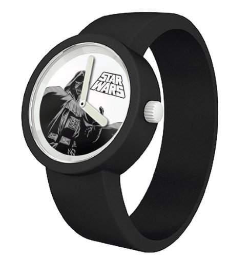Star Wars Unisex-Armbanduhr Analog Quarz Silikon 800084