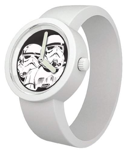 Star Wars Unisex-Armbanduhr Analog Quarz Silikon 800085