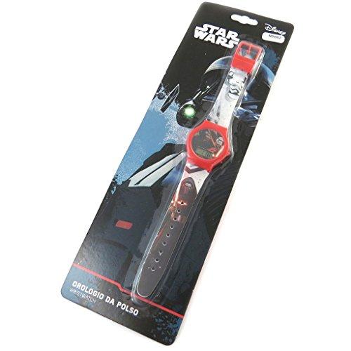 Digitale uhr Star Warsrot schwarz
