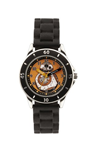 Star Wars Jungen Armbanduhr Analog Silikon Schwarz SWM3046
