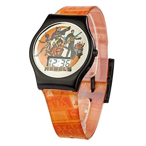 Offizielle Klassische Kinder Star Wars QA Armbanduhr