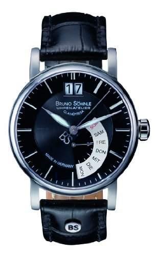 Bruno Soehnle Herren-Armbanduhr Analog Quarz Leder 17-13073-741