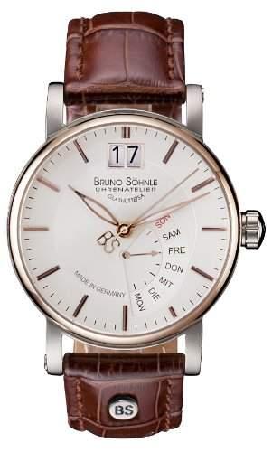 Bruno Soehnle Herren-Armbanduhr Analog Quarz Leder 17-63073-245