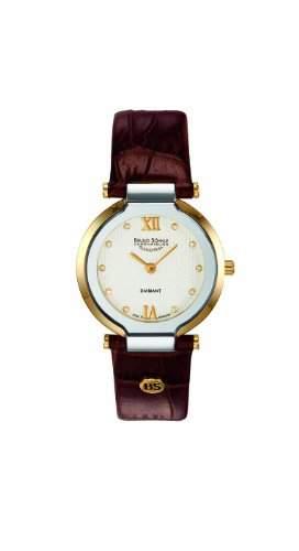 Bruno Soehnle Damen-Armbanduhr Allegro Analog Quarz Leder 17-23077-931