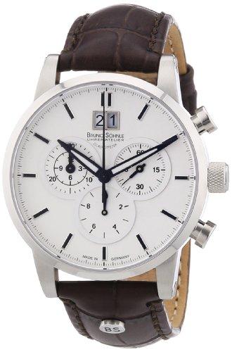 Bruno Soehnle XL Idas Chronograph Quarz Leder 17 13084 241
