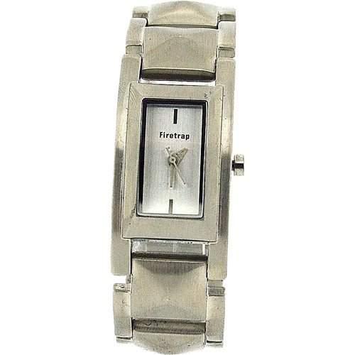 FIRETRAP Analoge Damen Armbanduhr silb Ziffbl, Edelstahlarmband FT1026S