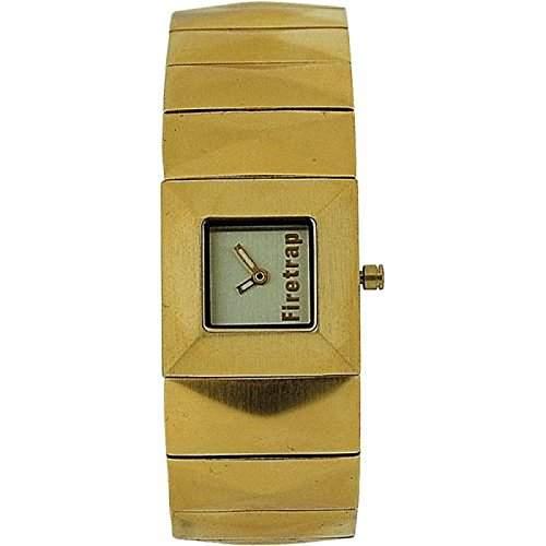 FIRETRAP DA Ana Uhr Gold Ziffbl & Gold Messing Armband FT1030G