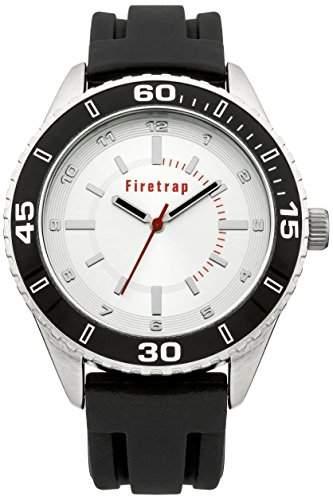 Firetrap Herren-Armbanduhr Analog Quarz Silikon FT2017B
