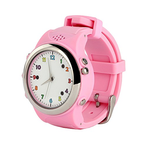 Cada GPS Positionierung Smart Watch fuer Kinder Antiverlust Schrittzaehler Kinder Locator Tracker Armbanduhr fuer iPhone Android