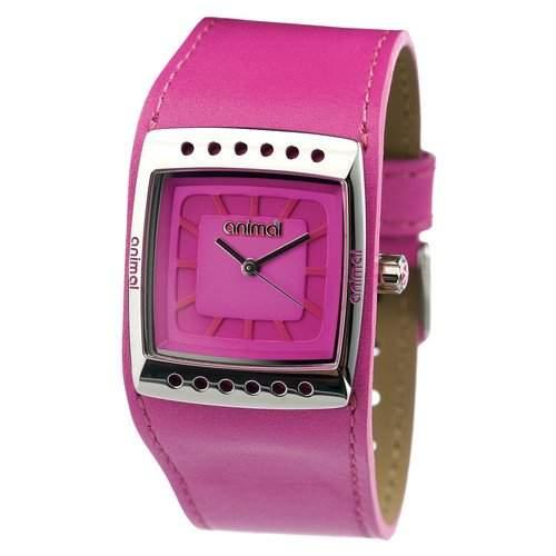 Tier-WW2WA504-C62-OS Damen-Armbanduhr Minny Quarz analog Leder Rosa