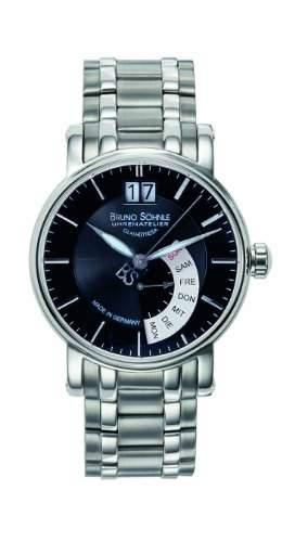Bruno Soehnle Herren-Armbanduhr Analog Quarz Edelstahl 17-13073-742