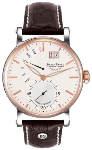Bruno Soehnle Herren-Armbanduhr Analog Quarz Leder 17-63073-247
