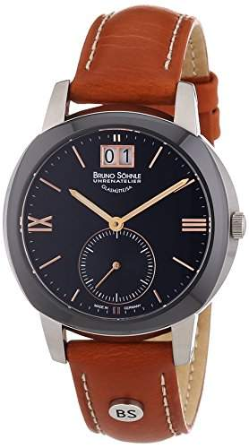 Bruno Soehnle Damen-Armbanduhr XS Analog Quarz Leder 17-73147-735