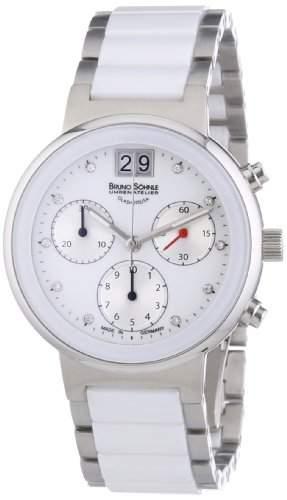 Bruno Soehnle Damen-Armbanduhr XS Algebra IV Chronograph Quarz Edelstahl 17-93134-952