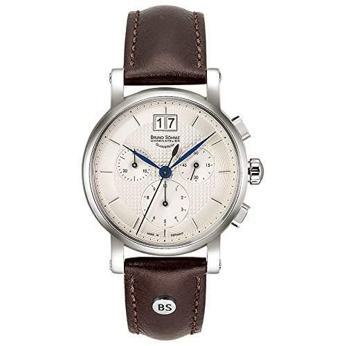 Bruno Soehnle Damen-Armbanduhr EpisodeIII Chronograph Quarz Leder 17-13115-240