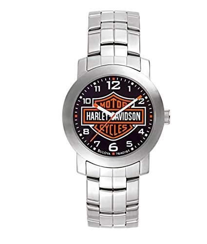 Harley Davidson MenArmbanduhr PH4900-C-PH01T Analog Edelstahl silber 76A019