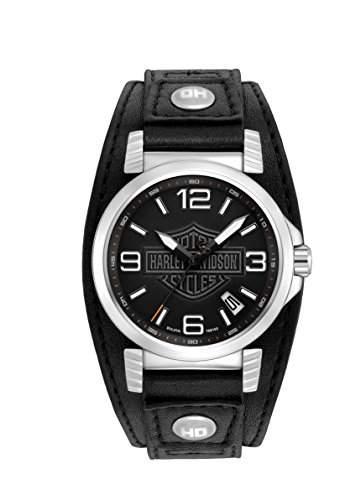 Harley-Davidson Herren-Armbanduhr 76B163