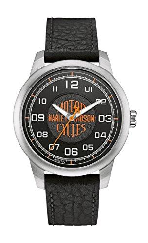 Harley Davidson Herrenuhr Leder Decals 76A155