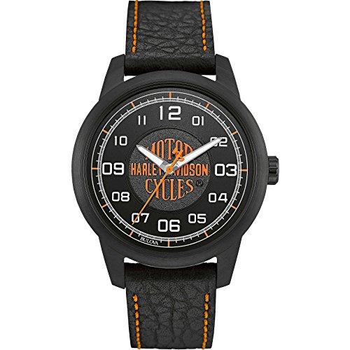 Uhr nur Zeit Herren Harley Davidson Sportliche Cod 78 A116