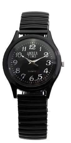 Partnerlook Doppel-Set: 2 x Armbanduhren fuer Mann und Frau - unterschiedliche Groessen - gleiches Aussehen!