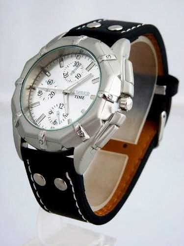 U-Thirtysix sportliche Herren Uhr Chrono Chronographen Design