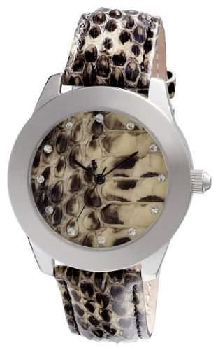 Pilgrim Damen-Armbanduhr Analog Quarz Leder 701346509
