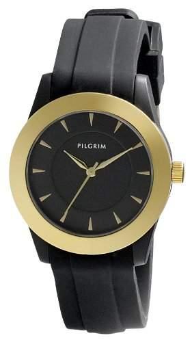 Pilgrim Damen-Armbanduhr XS Analog Quarz Kautschuk 701412101