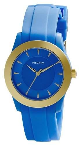 Pilgrim Damen-Armbanduhr XS Analog Quarz Kautschuk 701412201