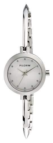 Pilgrim Damen-Armbanduhr XS Analog Quarz Edelstahl beschichtet 701416007