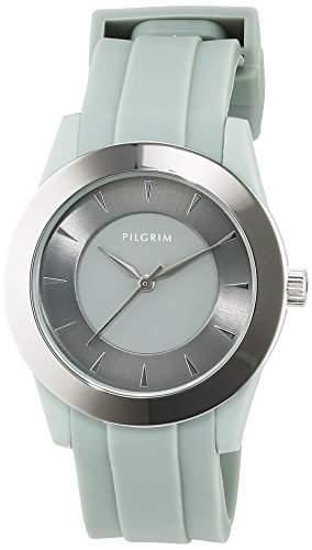 Pilgrim Damen-Armbanduhr XS Analog Quarz Kautschuk 701416101