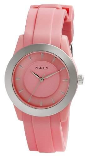 Pilgrim Damen-Armbanduhr XS Analog Quarz Kautschuk 701416301