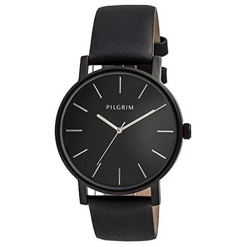 Pilgrim Damen-Armbanduhr Analog Quarz Leder 701443103