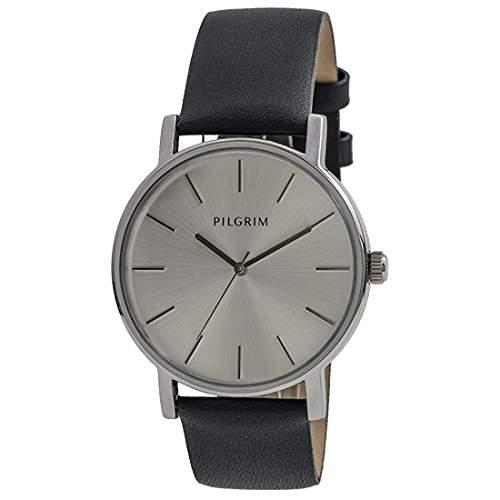 Pilgrim Damen-Armbanduhr Analog Quarz Leder 701446103