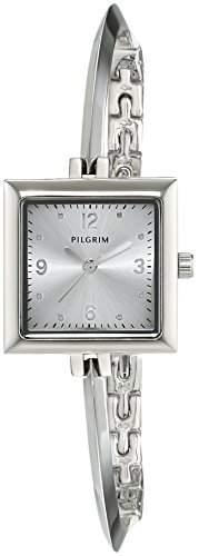 Pilgrim Damen-Armbanduhr Analog Quarz Edelstahl 701536000
