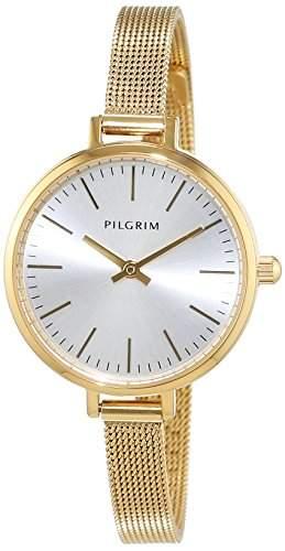 Pilgrim Damen-Armbanduhr Analog Quarz Edelstahl 701542000